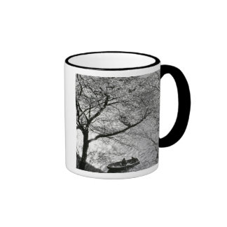 Japan, Tokyo. Cherry blossoms in the Imperial Mugs