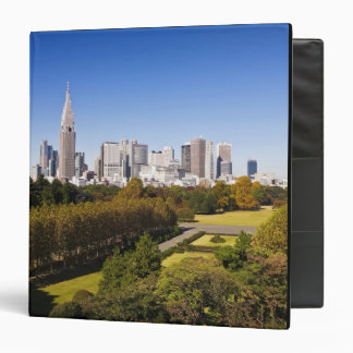 Japan. Tokyo. Shinjuku District Skyline and Binders