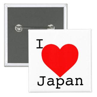 Japan Tsunami Support Pinback Button