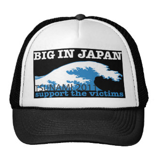 Japan Tsunami - Support the Victims Trucker Hat