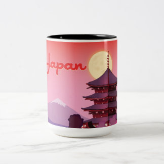 Japan Two-Tone Coffee Mug