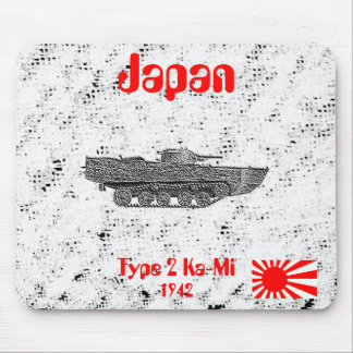 Japan Type 2 Tank Mouse Pads