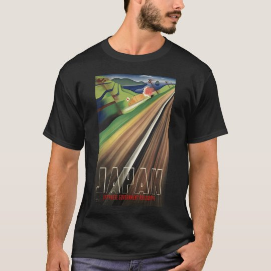 Japan - Vintage Japanese Travel Poster T-Shirt