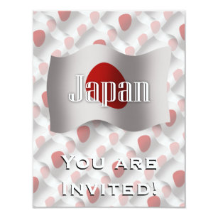 Japanese new year invitations zazzle japan waving flag invitation stopboris Image collections