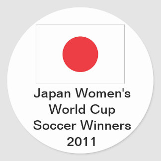 Japan Women's World Cup Soccer 2011 Stickers