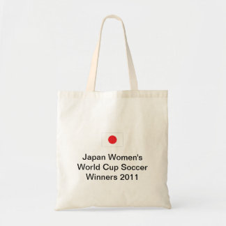 Japan Women's World Cup Soccer Winners 2011 Bag