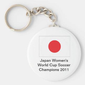 Japan Women's World Cup Soccer Winners Keychain
