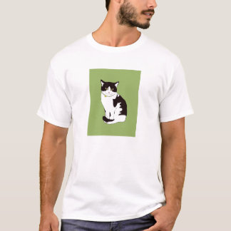 "Japanese 愛猫家 ""Cat Lover"" T-shirt"