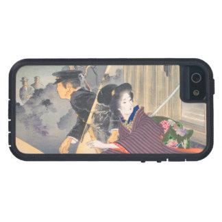 Japanese, active turn of 20th century Hamada Josen Case For iPhone SE/5/5s