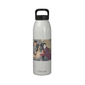 Japanese, active turn of 20th century Hamada Josen Water Bottle