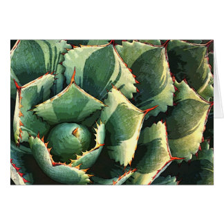 Japanese agave notecard stationery note card