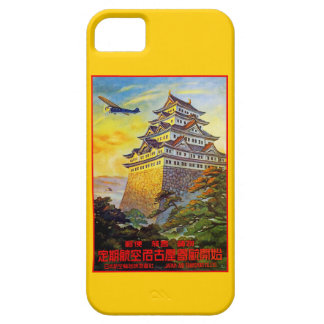 Japanese Air Transport with Pagoda iPhone SE/5/5s Case
