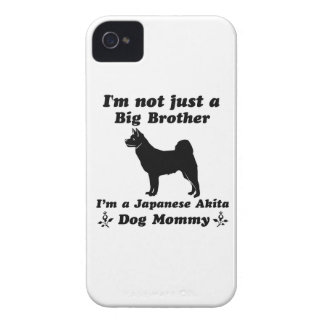 japanese akita Dog Mommy Designs iPhone 4 Cases