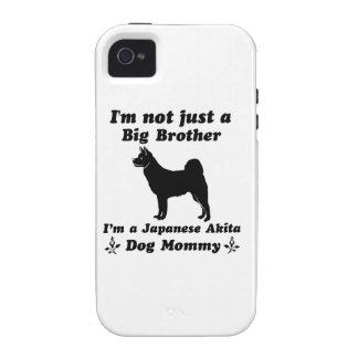 japanese akita Dog Mommy Designs iPhone 4/4S Case