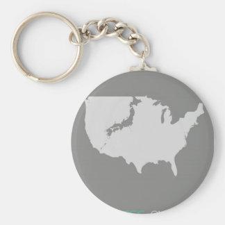 Japanese America Keychain