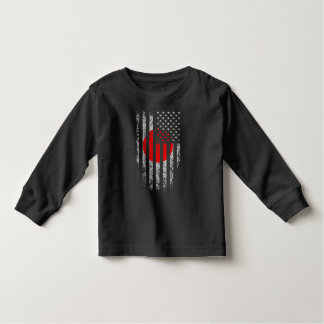 Japanese American Flag Grunge Toddler T-shirt