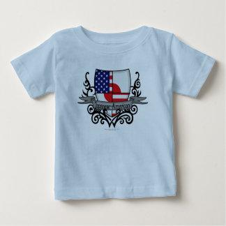Japanese-American Shield Flag Baby T-Shirt