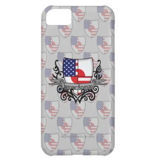 Japanese-American Shield Flag iPhone 5C Case