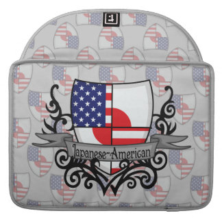 Japanese-American Shield Flag Sleeves For MacBook Pro