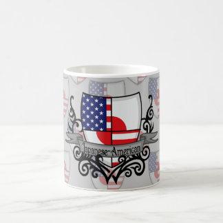 Japanese-American Shield Flag Classic White Coffee Mug