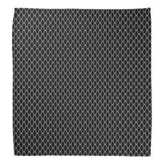 Japanese Amime Pattern Black Bandana