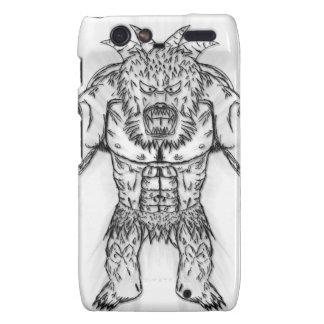 Japanese Ancient Beast Tattoo Art Droid RAZR Case