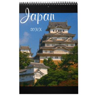 japanese architecture calendar