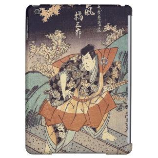 Japanese Art - A Samurai In Combat Stance iPad Air Cover
