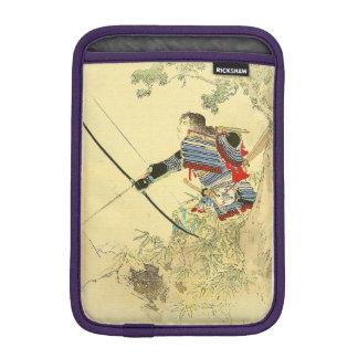 Japanese Art - A Samurai With A Longbow And Arrows iPad Mini Sleeves