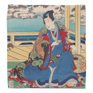 Japanese Art bandana