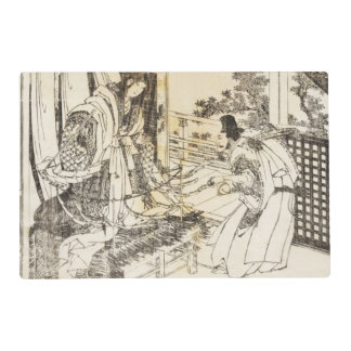 Japanese Art by Hokusai 6 Double Sided Placemat