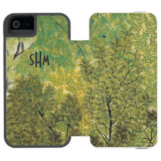 Japanese Art custom monogram wallet cases Incipio Watson™ iPhone 5 Wallet Case