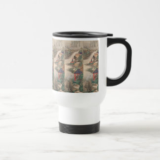 Japanese Art custom mugs