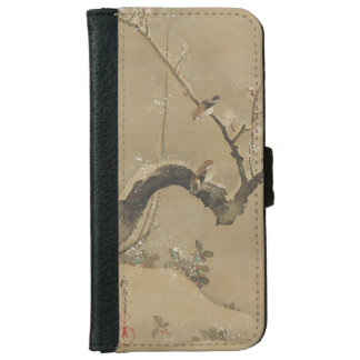 Japanese Art custom wallet cases iPhone 6 Wallet Case