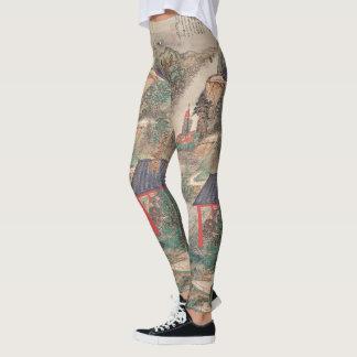 Japanese Art leggings