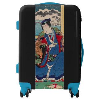 Japanese Art luggage