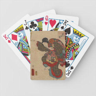 Japanese Art Print Daiichi no maki Bicycle Playing Cards