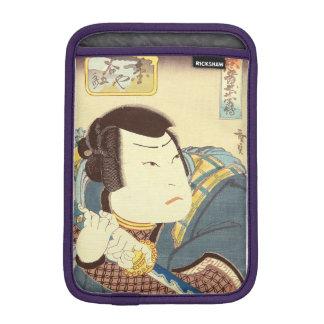 Japanese Art - Samurai In Full Combat Gear iPad Mini Sleeves