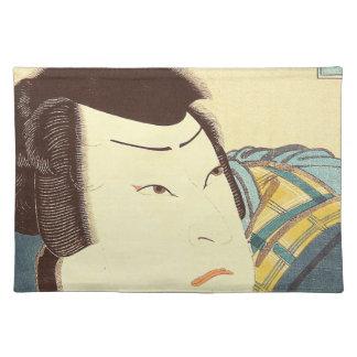 Japanese Art - Samurai On Full Combat Gear Placemat