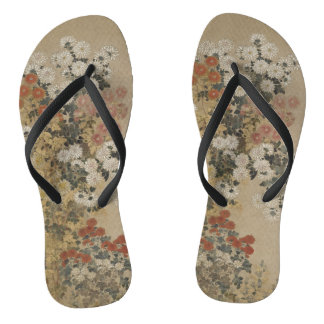 Japanese Art sandals Flip Flops