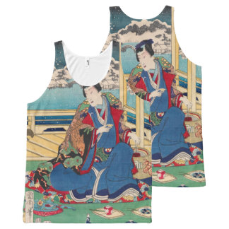 Japanese Art tanktop All-Over-Print Tank Top