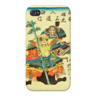 Japanese Art - Two Samurais In Full Battle Armor Cover For iPhone 4