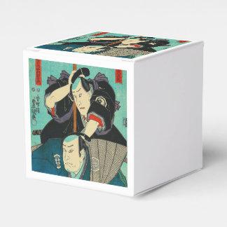 Japanese Art - Two Samurais Spying On Enemies Favor Box