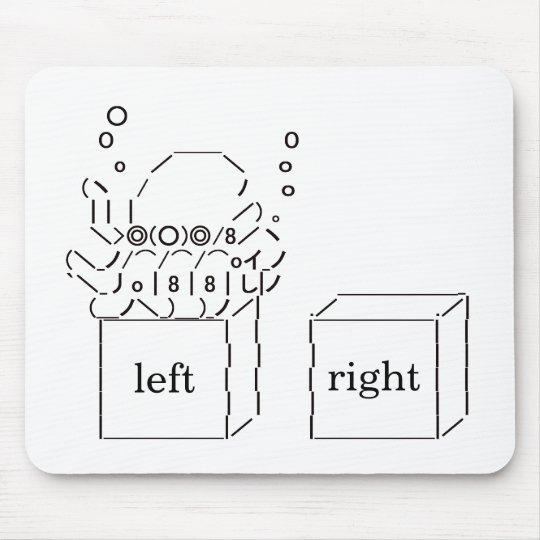 "Japanese ASCII Art ""Octopus Paul (left)"" (Custom) Mouse Pad"