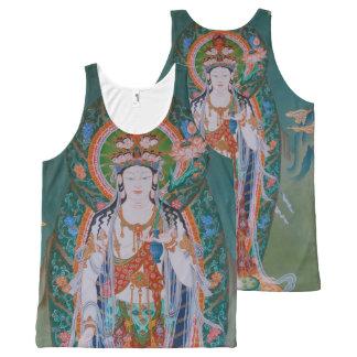 Japanese Avalokiteshvara All-Over Print Tank Top