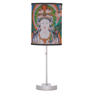 Japanese Avalokiteshvara Table Lamp