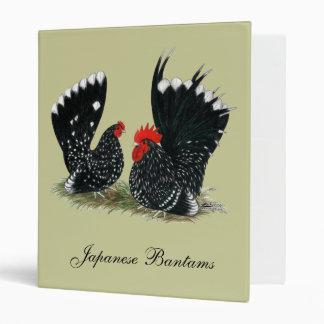 Japanese Bantams Mottled Binder