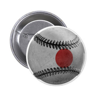 Japanese Baseball Pinback Button