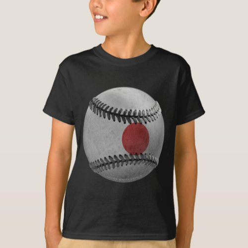 Japanese Baseball T_Shirt
