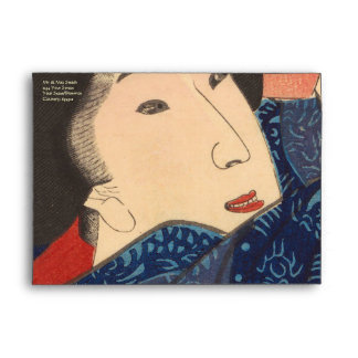 Japanese Beauty airs colourful garments Envelope
